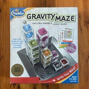 🏷Think Fun Gravity Maze Falling Marble Logic Game